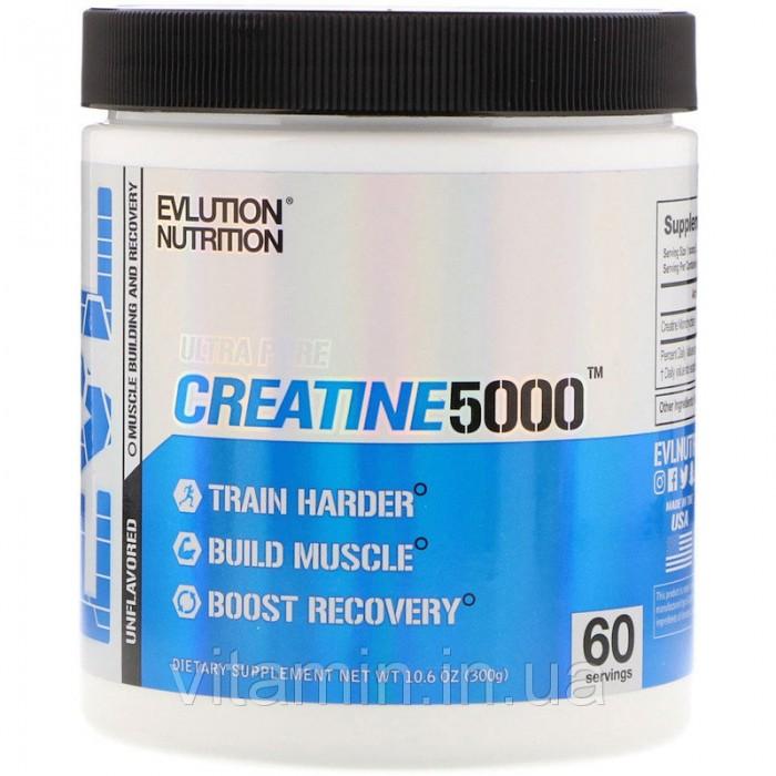 EVLUTION NUTRITION CREATINE 5000 300 гр